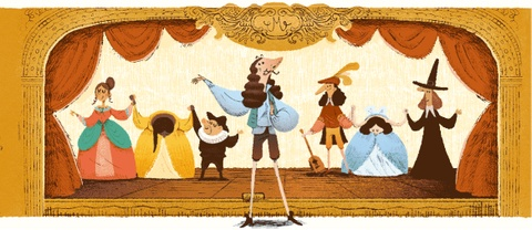 Moliere duoc Google doodle vinh danh qua nhung kiet tac hinh anh 6