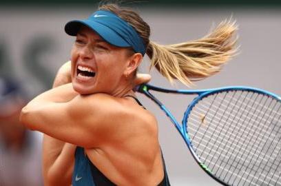 Ngôi sao quần vợt Sharapova: 'Thất bại chẳng khác gì cái chết'