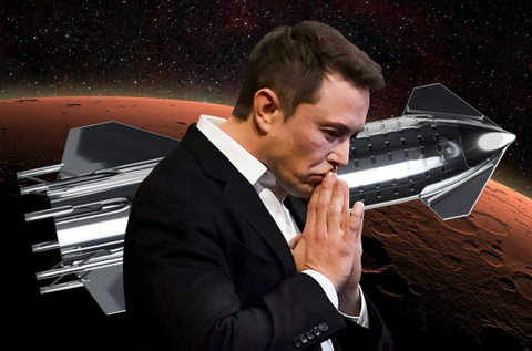 Elon Musk - ga mong mo dien ro muon duoc chet tren Hoa tinh hinh anh