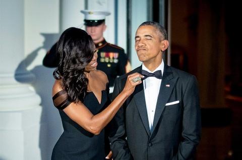 Ba Michelle Obama lo lang khi chong tranh cu tong thong hinh anh