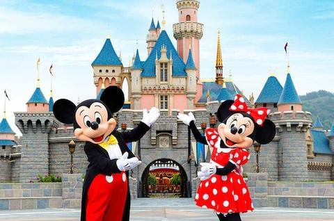 Su hinh thanh va phat trien cua Disneyland hinh anh