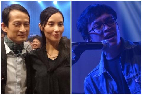Vo chong dao dien Tran Anh Hung di nghe nhac indie cua Ca Hoi Hoang hinh anh
