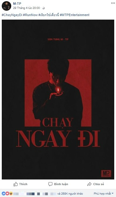 Son Tung M-TP va 'Chay ngay di': Chien luoc PR bai ban nhat Vpop? hinh anh 2