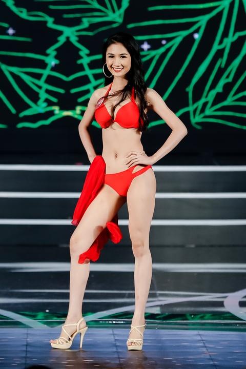 Nguoi dep Hoa hau Viet Nam 2018 dien bikini do ruc trinh dien hinh anh 19