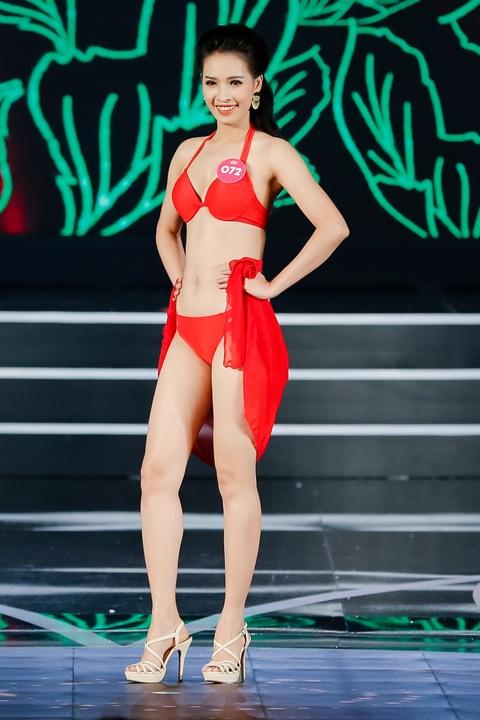 Nguoi dep Hoa hau Viet Nam 2018 dien bikini do ruc trinh dien hinh anh 20