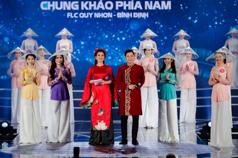 Nguoi dep Hoa hau Viet Nam 2018 dien bikini do ruc trinh dien hinh anh 10