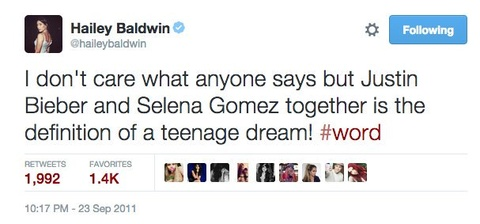 Tinh tay ba tro treu cua Justin Bieber, Selena Gomez va Hailey Baldwin hinh anh 4
