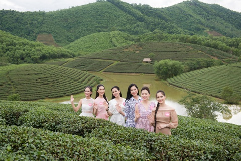 Co gai co mai toc dai 1,4 m o Hoa hau Viet Nam 2018 hinh anh 3