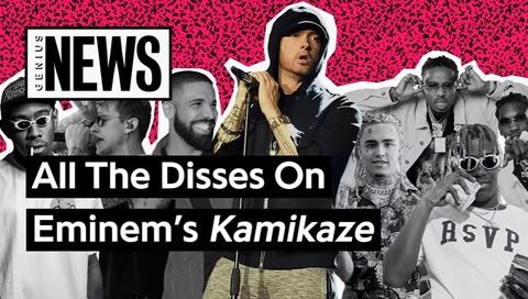 Nhung nghe si Rap bi Eminem reo ten trong album 'Kamikaze' hinh anh
