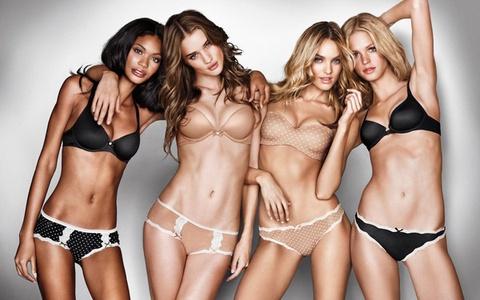 Nguoi mau Victoria's Secret dot mo cap toc de dien noi y hinh anh