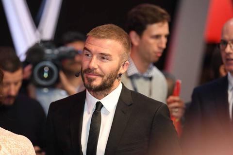 David Beckham bi che guong gao va ho hung tai su kien VinFast hinh anh 1