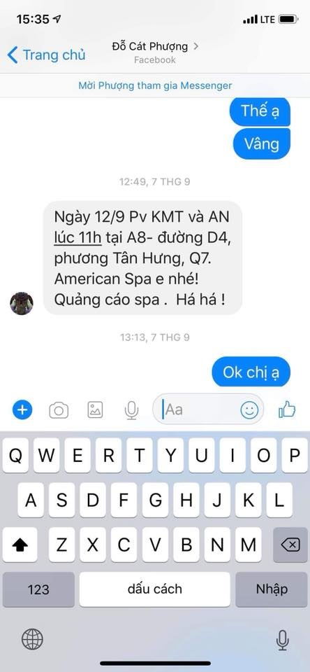Khan gia chi trich Cat Phuong sau khi An Nguy cong khai tin nhan PR hinh anh 3