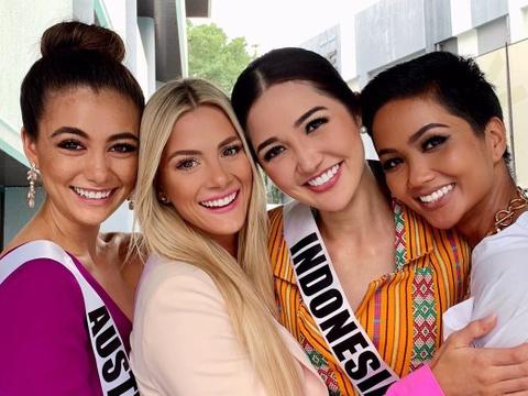 Hoa hậu Mỹ vạ miệng vì chê tiếng Anh của H'Hen Niê, thí sinh Campuchia