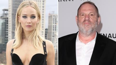 Jennifer Lawrence phẫn nộ vì tin đồn từng ngủ với Harvey Weinstein