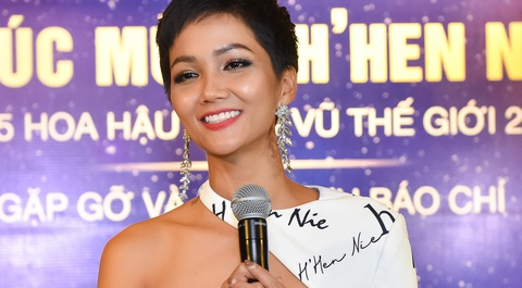 H'Hen Nie xin loi vi lam mat nhan dat tien cua Le Hang o Miss Universe hinh anh
