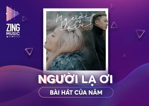 Huong Tram la Nghe si cua nam, 'Nguoi la oi' thang o ZMA 2018 hinh anh 1