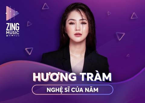 Huong Tram la Nghe si cua nam, 'Nguoi la oi' thang o ZMA 2018 hinh anh