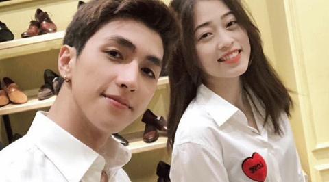 A hau Phuong Nga cong khai yeu dien vien Binh An vao ngay Valentine hinh anh
