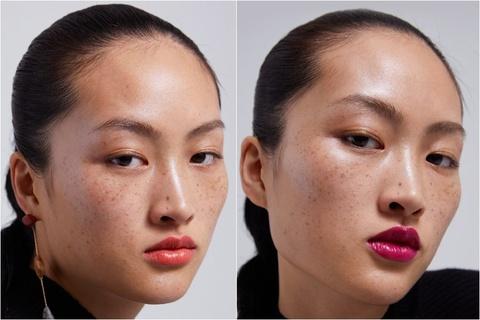 Ảnh mẫu mặt mộc, đầy tàn nhang bị cho là 'làm xấu người Trung Quốc'