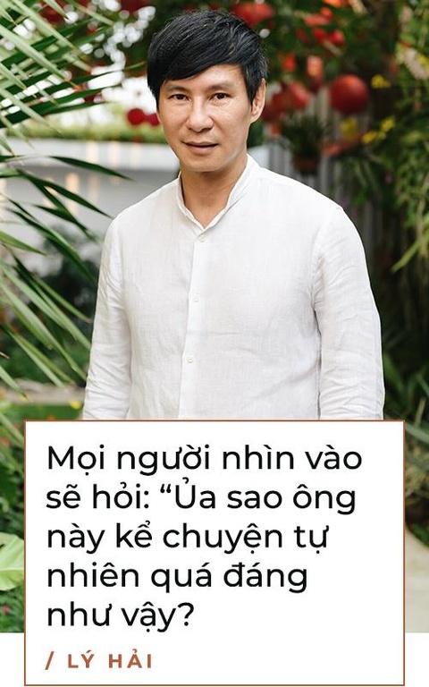 Ly Hai: 'Toi khong bon chen, san si, ve voi vo con la nhat' hinh anh 5