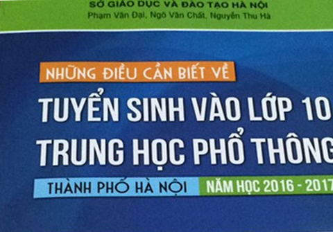 'Nhung dieu can biet ve tuyen sinh vao lop 10' tai Ha Noi hinh anh