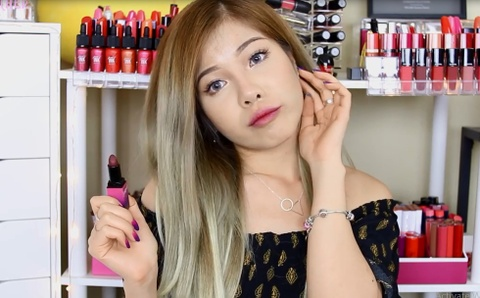 Changmakeup review tung mau son trong bo suu tap moi hinh anh