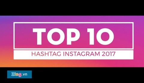 Top 10 hashtag duoc dung nhieu nhat trong trong nam cua Instagram hinh anh