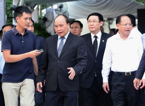 Thu tuong Nguyen Xuan Phuc vieng ong Phan Van Khai tai que nha hinh anh 1