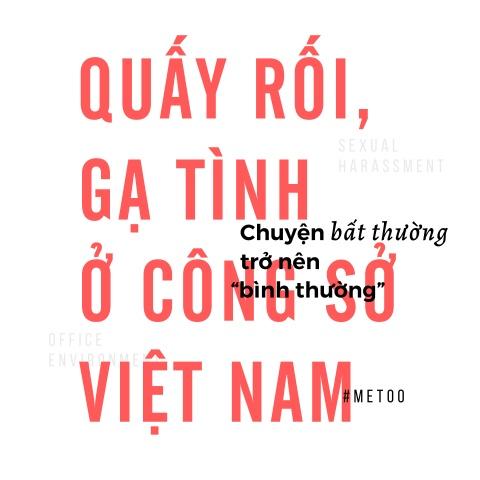 Quay roi o cong so Viet Nam: Chuyen bat thuong tro nen binh thuong hinh anh 1