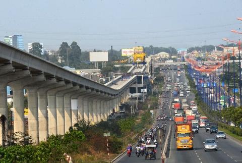 Kien nghi lui thoi gian xay dung metro Ben Thanh - Tham Luong den 2020 hinh anh