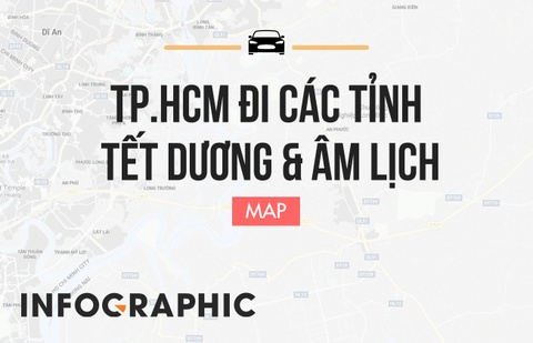 Thay doi lo trinh tu TP.HCM di cac tinh trong Tet Duong va Am lich hinh anh