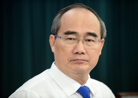 Bi thu Nhan nhan nhu can bo: Cai gi khong dung phap luat thi dung lam hinh anh