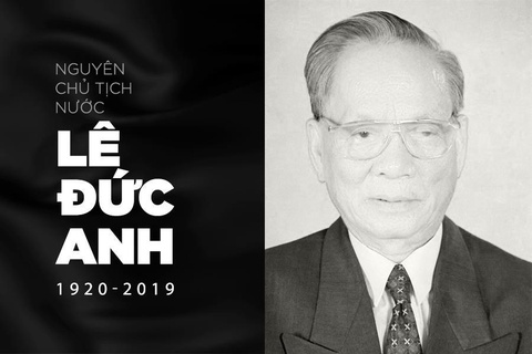 Nguyen Chu tich nuoc Le Duc Anh tu tran o tuoi 99 hinh anh
