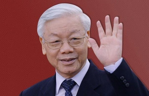 Ra mat sach ve Tong bi thu, Chu tich nuoc Nguyen Phu Trong hinh anh