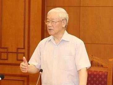 Tong bi thu: Thanh vien Tieu ban Nhan su phai trung thanh, giu bi mat hinh anh