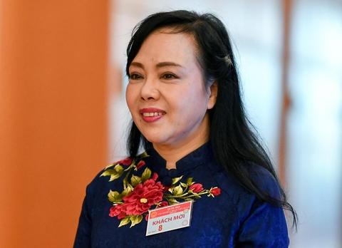 Bo truong Nguyen Thi Kim Tien: 'Toi chua biet nguoi ke nhiem' hinh anh