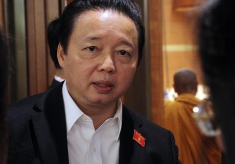 Bo truong TNMT Tran Hong Ha: Toi cung phai dung nuoc ban 3 ngay hinh anh