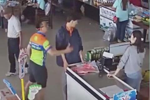 Bi thu Thai Nguyen: Xu nghiem thuong uy cong an tat nhan vien ban hang hinh anh
