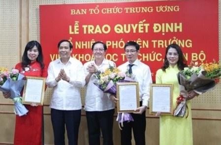Ban To chuc Trung uong chon duoc 3 vu pho qua thi tuyen hinh anh