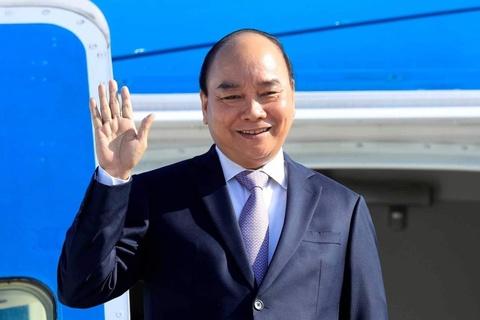 Chu tich nuoc Nguyen Xuan Phuc den Cuba hinh anh