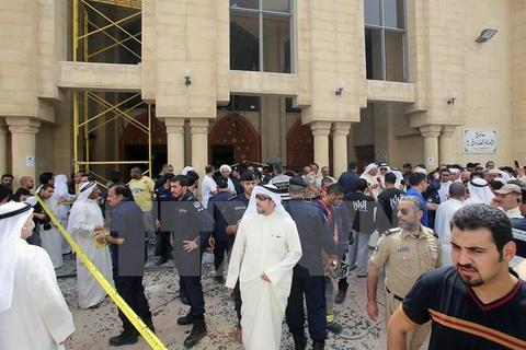 Kuwait xac dinh danh tinh ke tan cong nha tho Hoi giao hinh anh