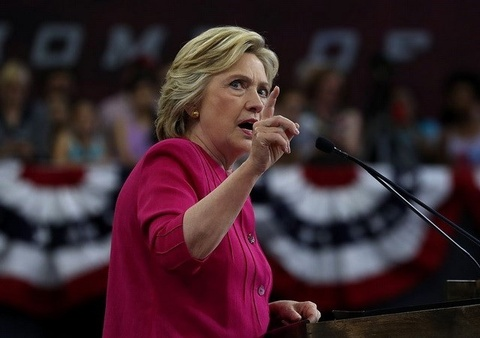 Nhieu nha tai tro cua dang Cong hoa rot tien cho ba Clinton hinh anh