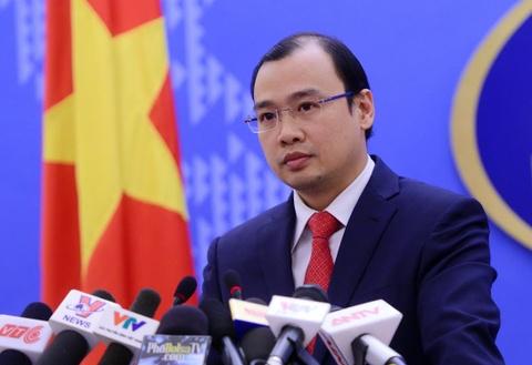 Viet Nam phan doi Dai Loan xay dung tren dao Ba Binh hinh anh