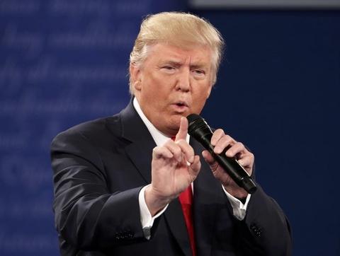 Trump: Toi chi noi con Bill Clinton lam dung phu nu hinh anh