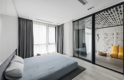 Can ho 110 m2 o Ha Noi lot xac nho thiet ke mo va go cong nghiep hinh anh 6