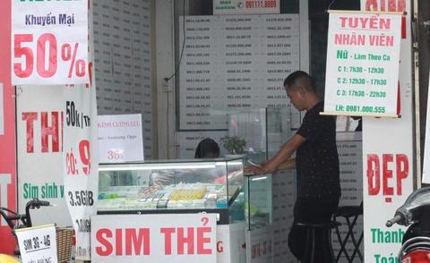 'Lãnh đạo hãng viễn thông phải chịu trách nhiệm cá nhân về SIM rác'