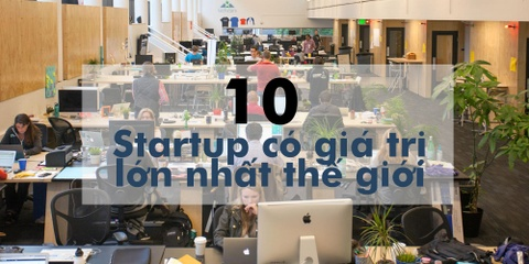 10 startup co gia tri lon nhat the gioi hinh anh 1