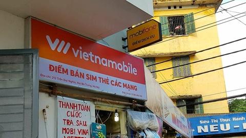 Dai ly gom SIM Vietnamobile va Gtel cho doi mang giu so hinh anh