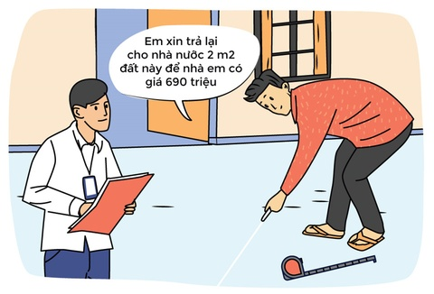 Hi hoa: Xin tra lai Nha nuoc 2 m2 dat de nha co gia 699 trieu hinh anh 2