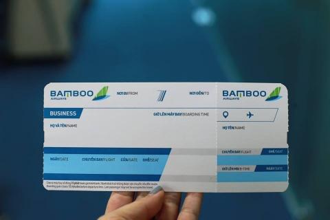 Bamboo Airways gian nan tren duong cat canh hinh anh